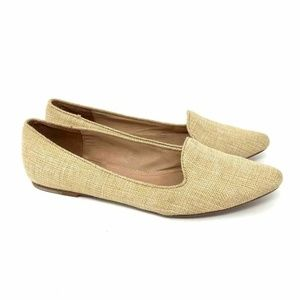 JOIE Day Dreaming Loafers Beige Pointed Flats 8